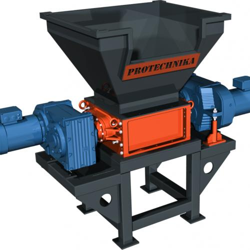 Two Shaft Shredders - Protechnika