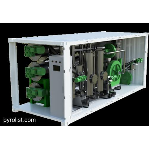 1 MW Containerized Pyrolysis Unit