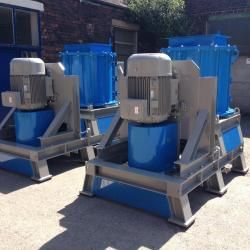 Single shaft, Twin shaft Four shaft shredders
