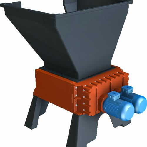 Four Shaft Shredder - Protechnika