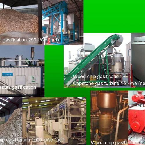 Design and build of pyrolysis and gasification hardware