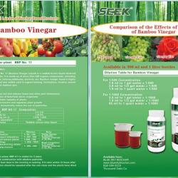 Seek Organic Bamboo Wood Vinegar
