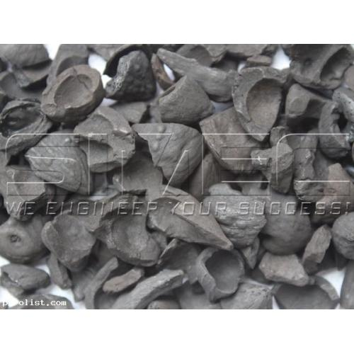 Biomass  Carbonization Palm Kernel Shell Charcoal Furnace